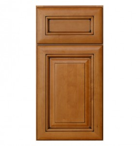 Glazed Maple Kitchen Cabinet Door