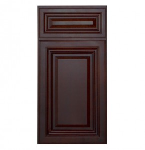 Glazed Walnut Kitchen Cabinet Door