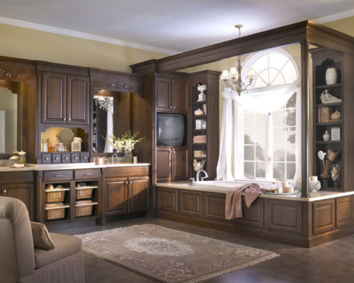Custom bathroom cabinets kitchen cabinet value for Custom bathrooms