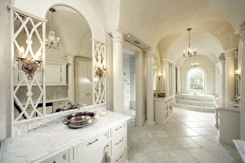 Mediterranean Bathroom Renovation