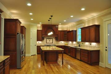 Cherry kitchen cabinets kitchen cabinet value for Cherry wood kitchen cabinets price
