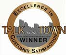 Talk of the Town Customer Satisfaction Award 2013